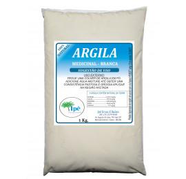 Argila Branca Medicinal, Clareadora, Cicatrizante - 1 Kg