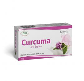 Sabonete de Curcuma, 90g - Lianda Natural