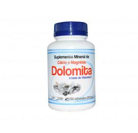 Dolomita Cálcio e Magnésio Vitamina D 120 Cápsulas, 500mg - Erva Nativa