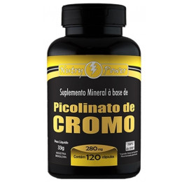 Picolinato de Cromo 280mg 120 Cápsulas - Nutry Power/ Apisnutri