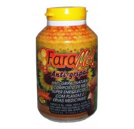 Composto Antigripal com Mel e Plantas Medicinais 450g - FaraMel