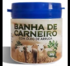 Banha de Carneiro com Óleo de Arruda 50g - All Natural