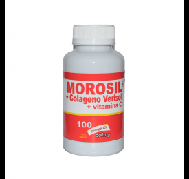 Morosil + Colágeno + Vitamina C 100 Cáp., 500mg - Nutriervas