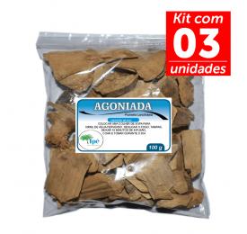 Kit 3 Agoniada 100g (Plumeria lancifoliata - Casca)