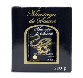 Gel Massageador Manteiga de Sucuri 200g - Sucuri